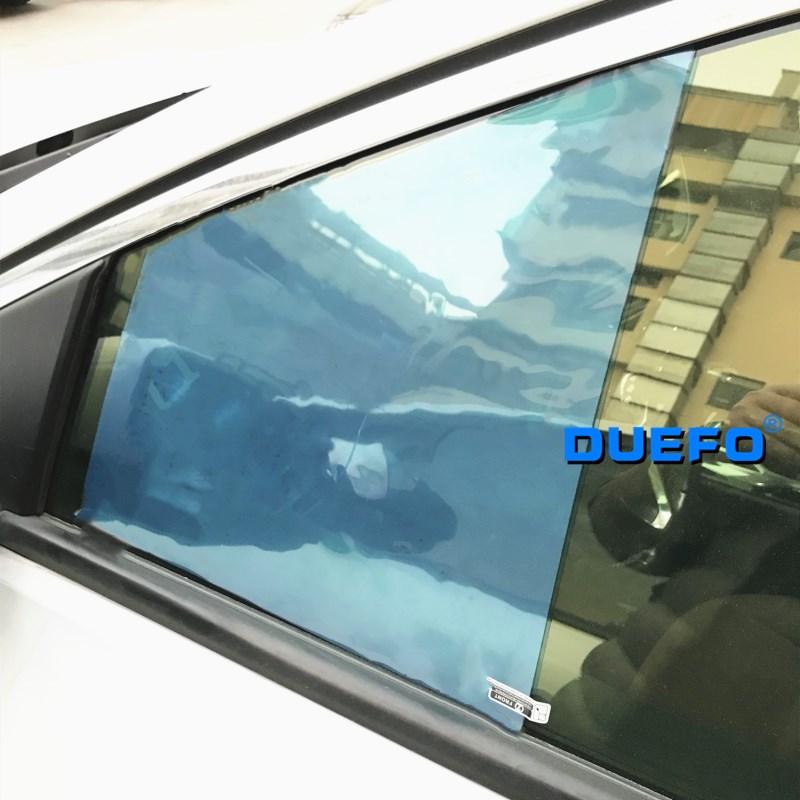 Novo 2 pçs auto carro anti névoa de água filme anti nevoeiro revestimento à prova chuva hidrofóbico espelho retrovisor película protetora adesivo