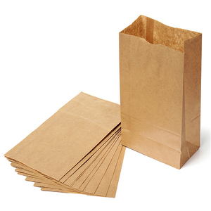 100pcs/pack White/Kraft Paper Side Gussets Bag Food Snack Tea Packaging Bag Open Top Heat Sealing Storage Pouches