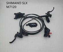 Bộ Chuyển Động SHIMANO SLX M7120 Phanh Đĩa Thủy Lực Đòn Bẩy Và 4 Piston Phanh Bộ BR M7120 + BL M7100 Cho MTB Xe Đạp Xe Đạp phanh Dầu