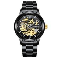 2019 nouveau FNGEEN hommes Montre automatique Sport mécanique Montre de luxe Montre haut marque hommes montres Montre Homme horloge