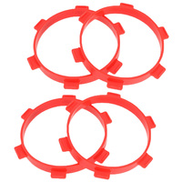 4PC Rubber Tire Mounting Glue Bands Diameter 85mm for RC Parts 1/8 Buggy 1/10 Short Course Truck Accessories Tools Red
