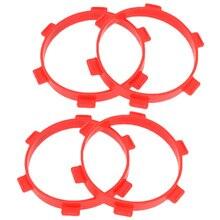 4 шт. резиновые ленты для монтажа шин диаметр 85 мм для радиоуправляемых запчастей 1/8 Багги 1/10 аксессуары для коротких курсов грузовиков инст...