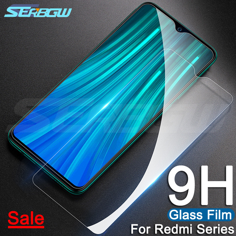 9H Tempered Glass On The For Xiaomi Redmi 6 Pro 7 7A 6A S2 K20 Redmi Note 8 7 6 Pro Screen Protector Protective Glass Film Case