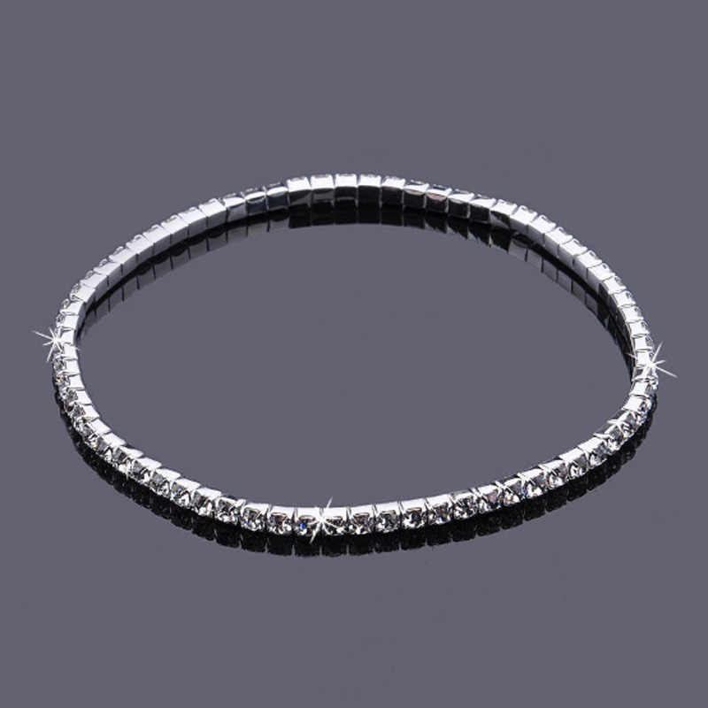 2017 настоящая женская Мода Потрясающие Стразы с бриллиантами цепочка на щиколотке для выпускного вечера или свадьбы для невесты подружки невесты