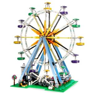 Image 5 - 모터 시티 관람차 창조주 streetview 모델 빌딩 블록 벽돌 장난감 선물 소녀 소년 적합 전문가 10247