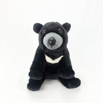 new toy lovely bear plush toy about 24cm black bear soft doll baby toy birthday gift w1579