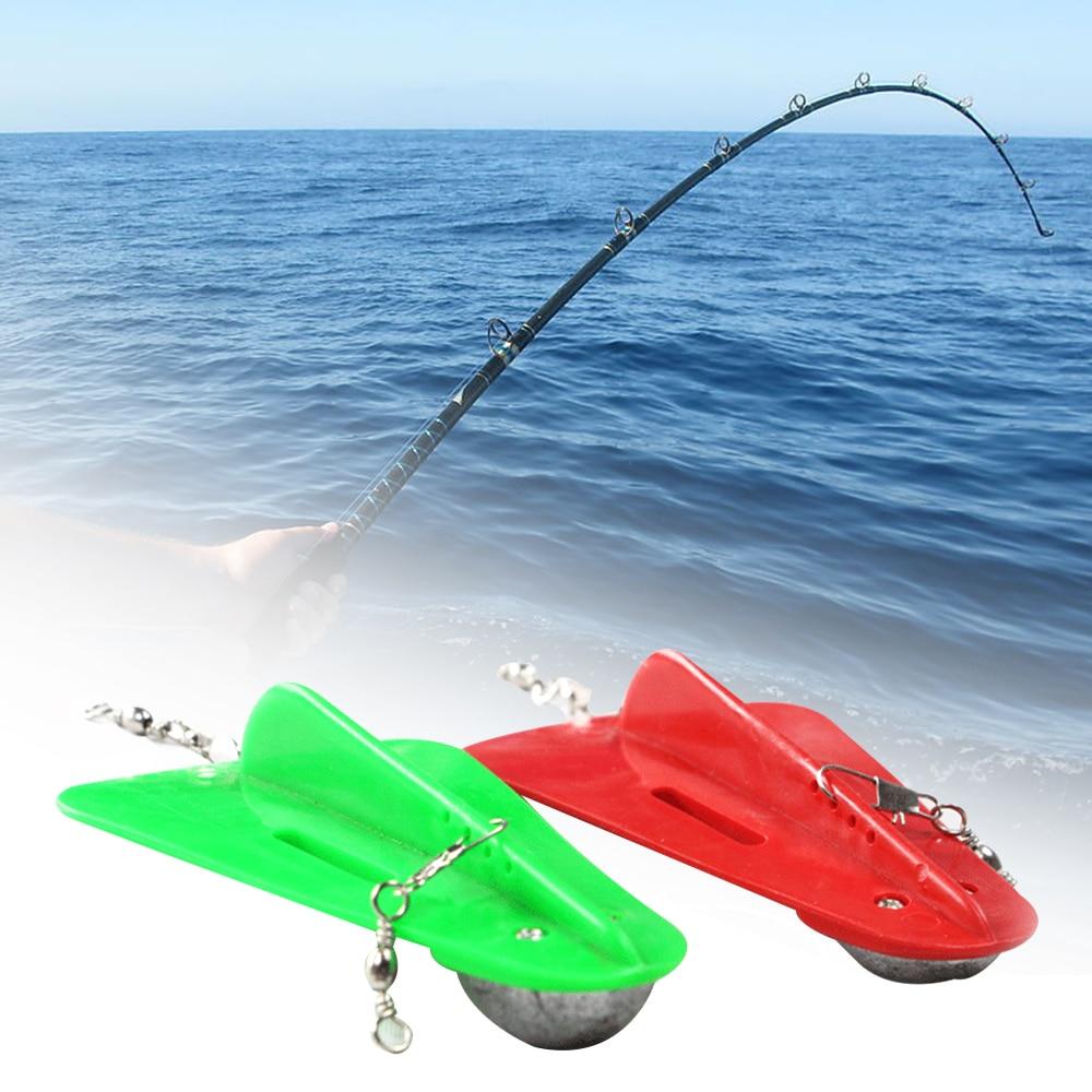 1pc Plastic Diving Board Outdoor Water Sport Trolling Board Fishing Supplies Belt Lead Belt Swivel Boat Fishing Deep Sea Fishing