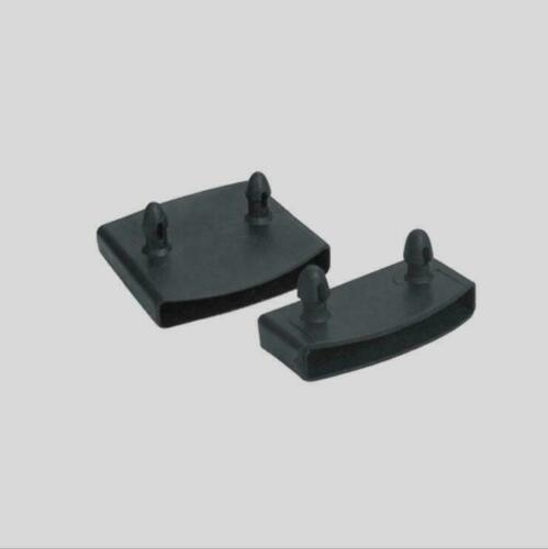 100PCS Black Plastic Square Replacement Sofa Bed Slat Centre End Caps Holder Inner Rubber Sleeve Size 9mmx53mm 9mmx55mm 9mmx62mm