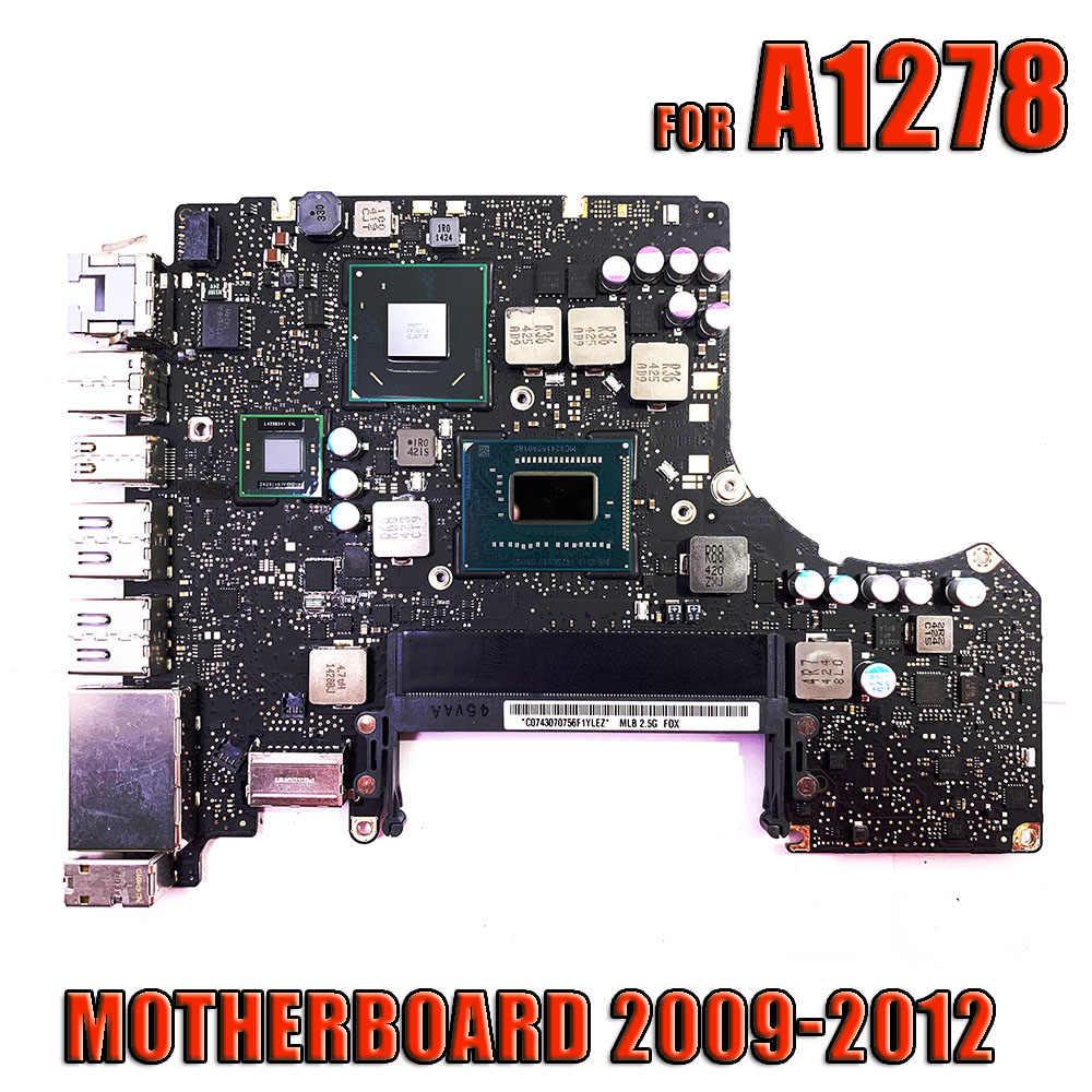 """820-3115-B płyta systemowa A1278 płyta główna dla MacBook Pro 2012 13 """"płyta główna A1278 i5 2.5GHz / i7 2.9GHz MD101 MD102"""