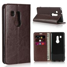 Crazy Horse Genuine Leather Wallet Flip Case for Fujitsu Arrows NX F-04G F-02H F-01K F-01J F-03K Arrows BE BE3 F-05J F-02L F-04K цена