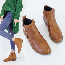 2019 winter women boots fashion casual women shoes martin boots buckle leather suede leather boots zipper high heels winter boot martin boots women 2018 new winter winter shoes european and american brand with leather boots zipper shoes custom made