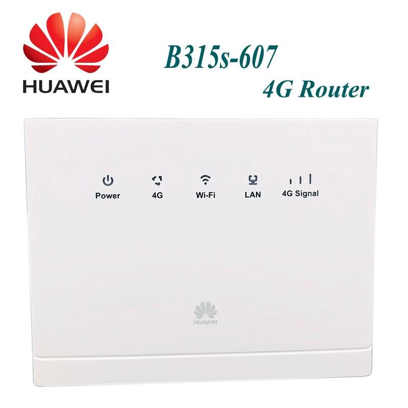 Unlocked  Huawei B315 B315s-607 4G LTE CPE 3G 4G wireless gateway plus antenna