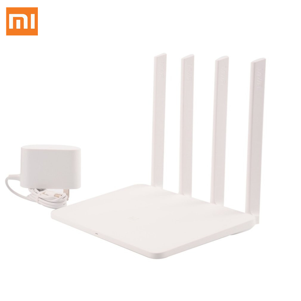 Wifi Repeater 4-Antennas Xiaomi Wireless Router 1167mbps 3G 256MB Memory App-Control