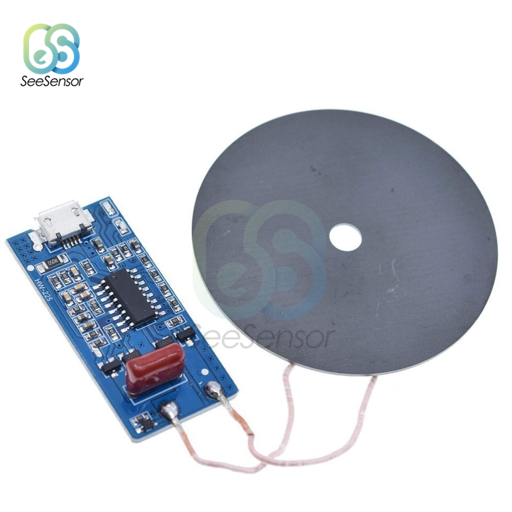 5V 1A Wireless Power Versorgung Lade Modul 5W Drahtlose Ladegerät Sender Universal Quick Charge Board DIY Kit