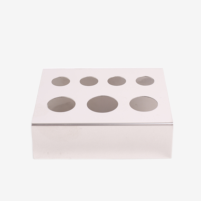 7 Holes Stainless Steel Pigment Cup Rack Tattoo Ink Cup Holder Stand For Permanent Makeup Microblading Tattoo Accessories 4