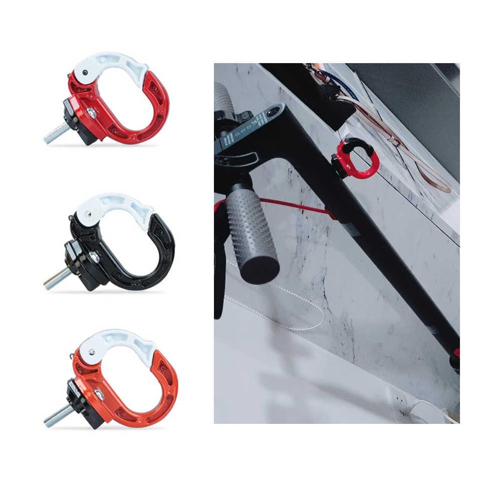 الدراجة سكوتر الألومنيوم مشبك معدني مخلب شنقا أكياس ل Xiaomi Mijia M365 سكوتر كهربائي شماعات أداة مع المسمار دروبشيبينغ