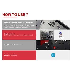Image 5 - NEJE DK 8 KZ 1500/2000/3000mW profesyonel DIY masaüstü Mini CNC lazer gravür kesici gravür ahşap kesme makinesi yönlendirici