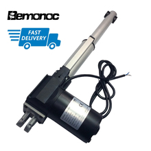 цена на Bemonoc DC 12V Electric Motor Linear Actuator 24Volt 4000/6000N 100-800mm Stroke 6-10mm/s Speed High Torque Linear Motor Putter