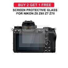 Z6 câmera de vidro para nikon z6 z7 z6ii z7ii tela película protetora câmera dureza vidro temperado ultra fino protetor tela