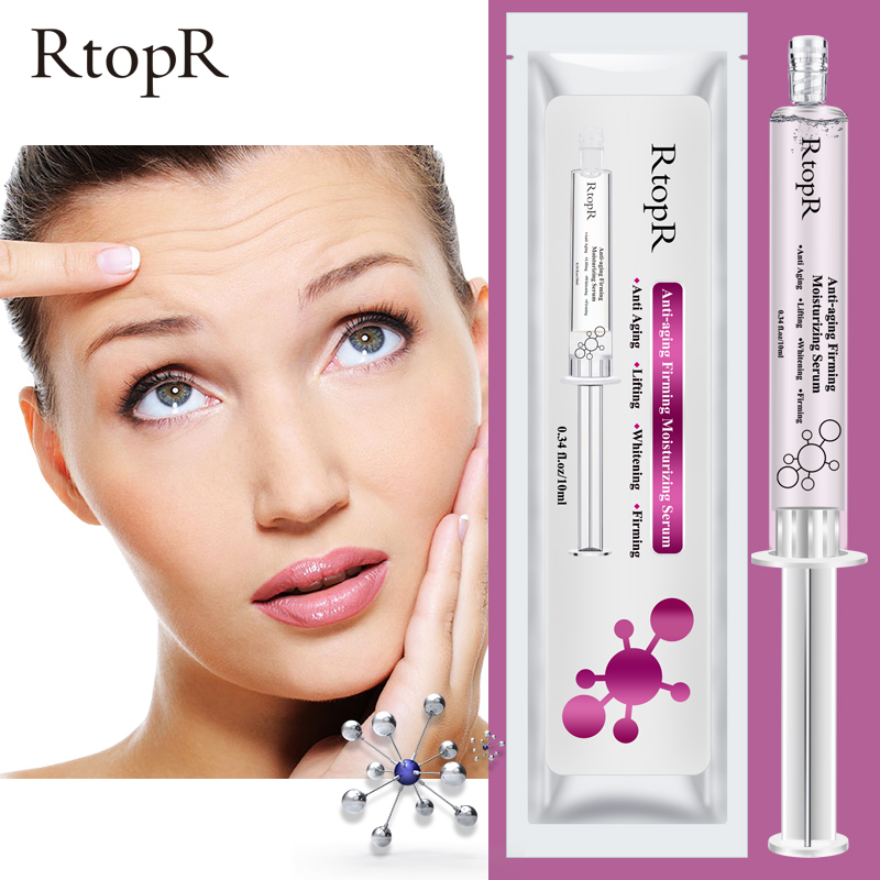RTOPR Hyaluronic Acid+ Mango Injection Face Serum Liquid Tights Anti-Wrinkle Anti Aging Collagen Facail Essence Moisturizing