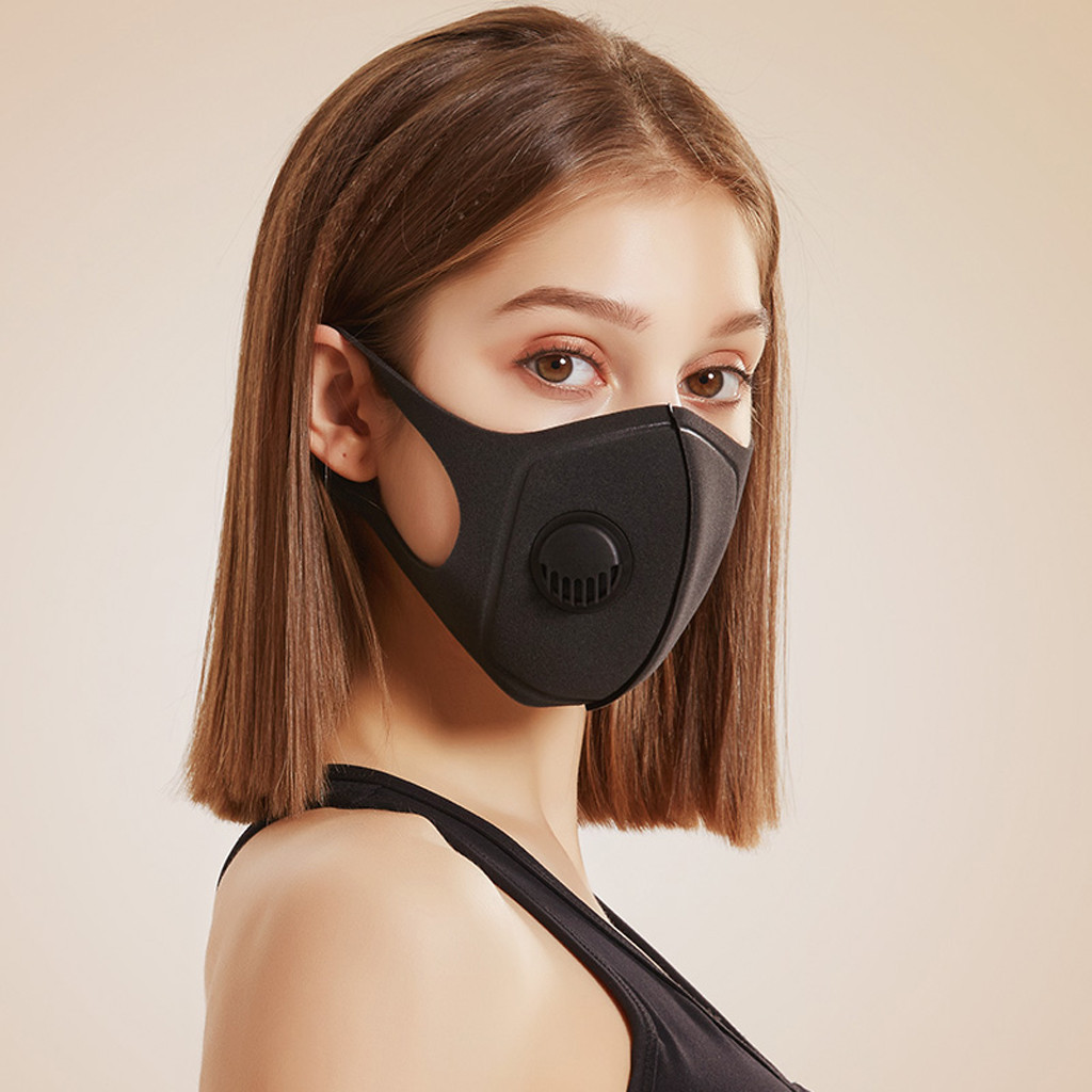 1/6PC  PM2.5 Breathable Flower Face Mask Printed Masks Fabric Protective PM 2.5 Dust Mouth Cover Washable Reusable Mouth Mask 3