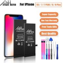 Bateria real da capacidade para o iphone 7 7 plus 8 mais 5S substituição bateria para o iphone 7g 8g 7 p 8 p 7 mais 8 mais 5S baterias