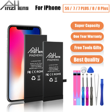 Batterie de capacité réelle pour iPhone 7 7plus 8 8plus 5S batterie de remplacement pour iPhone 7G 8G 7 P 8 P 7plus 8 Plus 5S Batteries