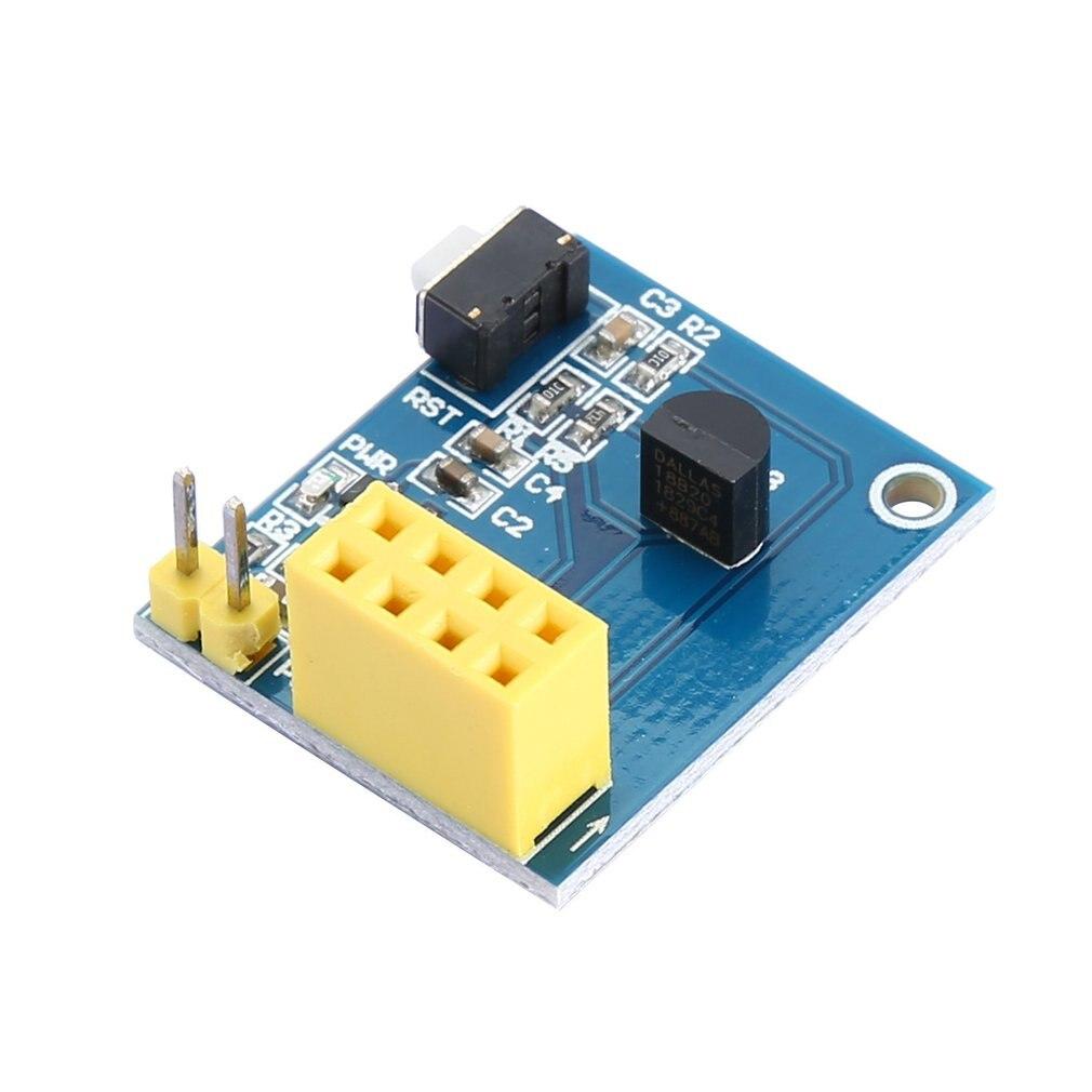 ESP8266 ESP-01 ESP-01S DS18B20 Temperature Humidity Sensor Module Wifi NodeMCU Smart Home IOT DIY Kit (without ESP Module)