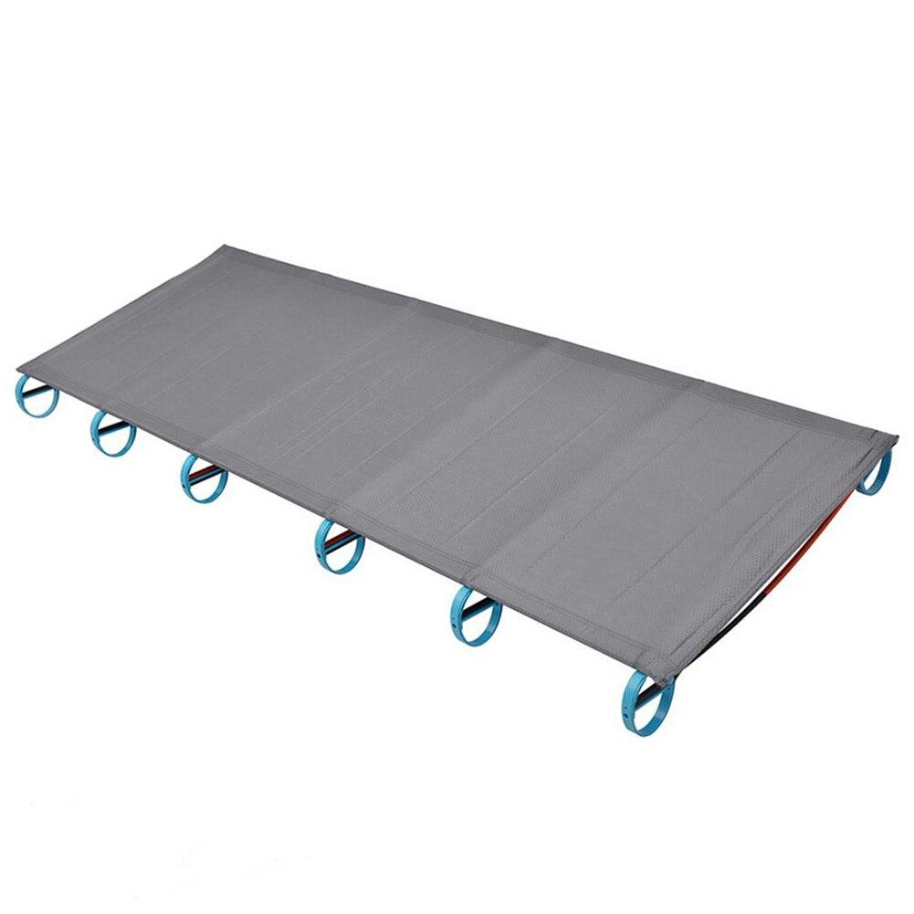 portátil ultra-leve alumínio dobrável cama multi-função resto