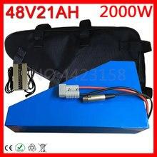 48V 20Ah треугольная батарея 48V 1000W 2000W батарея для электрического велосипеда 48V 20Ah литиевая батарея с сумкой+ 54,6 V 5A зарядное устройство