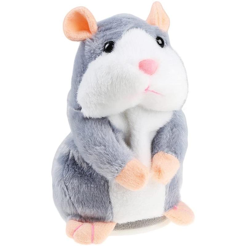 Plush-Toy Toys Doll Hamster Mouse Christmas-Falante Animal Funny 15cm-Talking Soft Pet