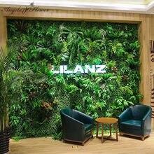 40*60cm sztuczna zielona ścienne sztuczne rośliny liść eukaliptusa bukiet DIY ślub tło dekoracyjne hotelu sklep okno, kwiaty ścienne