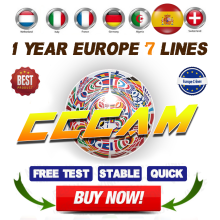 Cccam espa�a portugal cccams for 1 year stable cccam for Satellite TV Receiver 7 lines WIFI FULL HD DVB-S2 Eroupe 7 lines ccams