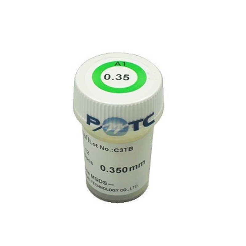 PMTC 250 18K BGA リードはんだボール 0.2/0.25/0.3/0.35/0.4/0.45/0.5 /0.55/0.6/0.65/0.76 ミリメートル Bga チップを Reballing ため作業