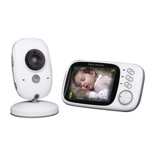 VB603 Wireless Video Color Baby Monitor 3.2 Inch High Resolution Night Vision Temperature Monitoring Nanny Security Camera