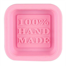 Soap-Molds Silicone Craft Square Handmade DIY Cute Oven Art New-Arrival