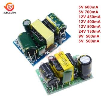 AC-DC 5V 700mA 12V 450mA 9V 500mA 3,5 W convertidor Buck de alta precisión AC 220V a 5V DC módulo de fuente de alimentación del transformador reductor