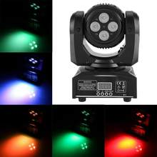 90W Doppel Seiten RGBW LED Kopf Moving Bühne Licht DMX512 Disco Party Wirkung Lichter(China)