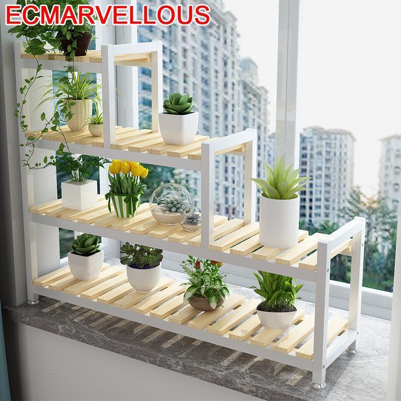 Suporte Flores Indoor Pot Rak Bunga Balkon Plantenrekken Varanda Balcony Shelf Outdoor Flower Stojak Na Kwiaty Rack Plant Stand