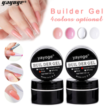 YAYOGE Builder Gel 15/10ml Poly Nail Extensions Gel