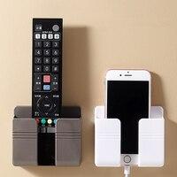 Organizador montado en la pared para teléfono móvil, soporte multifunción de carga para enchufe de pared, nuevo