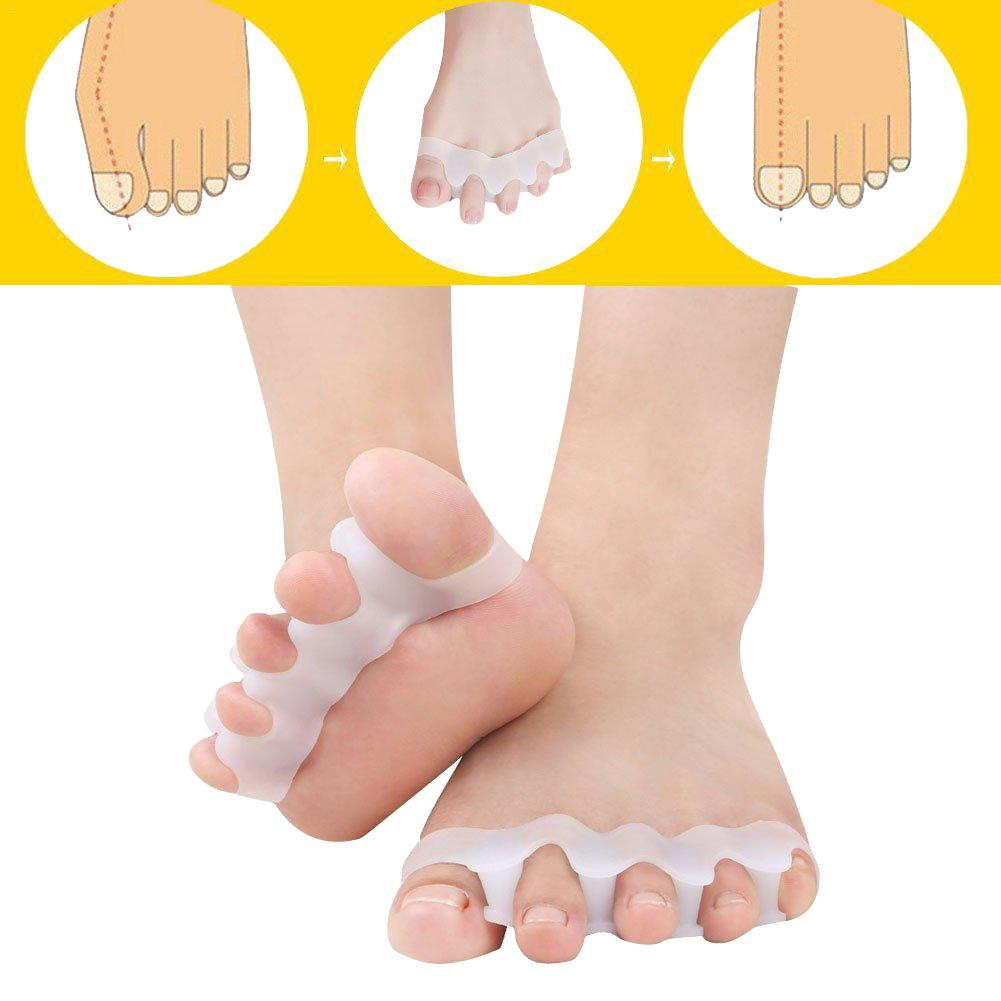 Silicone Toe Valgus Toe Separator Child Toe Aligner Toe Stretcher For Men And Women Shoes