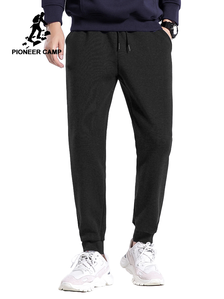 Pioneer Camp Sportwear Sweatpants Mens Spring Summer Blue Black Loose Fashion Joggers For Male 2020 AZZ0107019