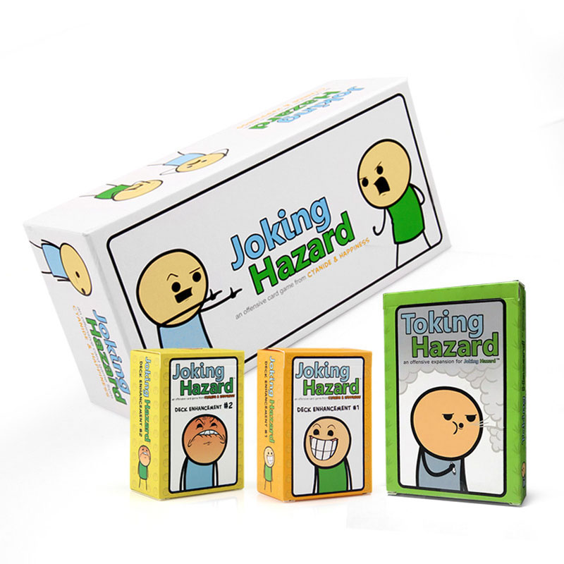 Joking Hazard  Board Games Family Party Interactive Toking Expansion Gift Kids Playing Strategy Game Toy
