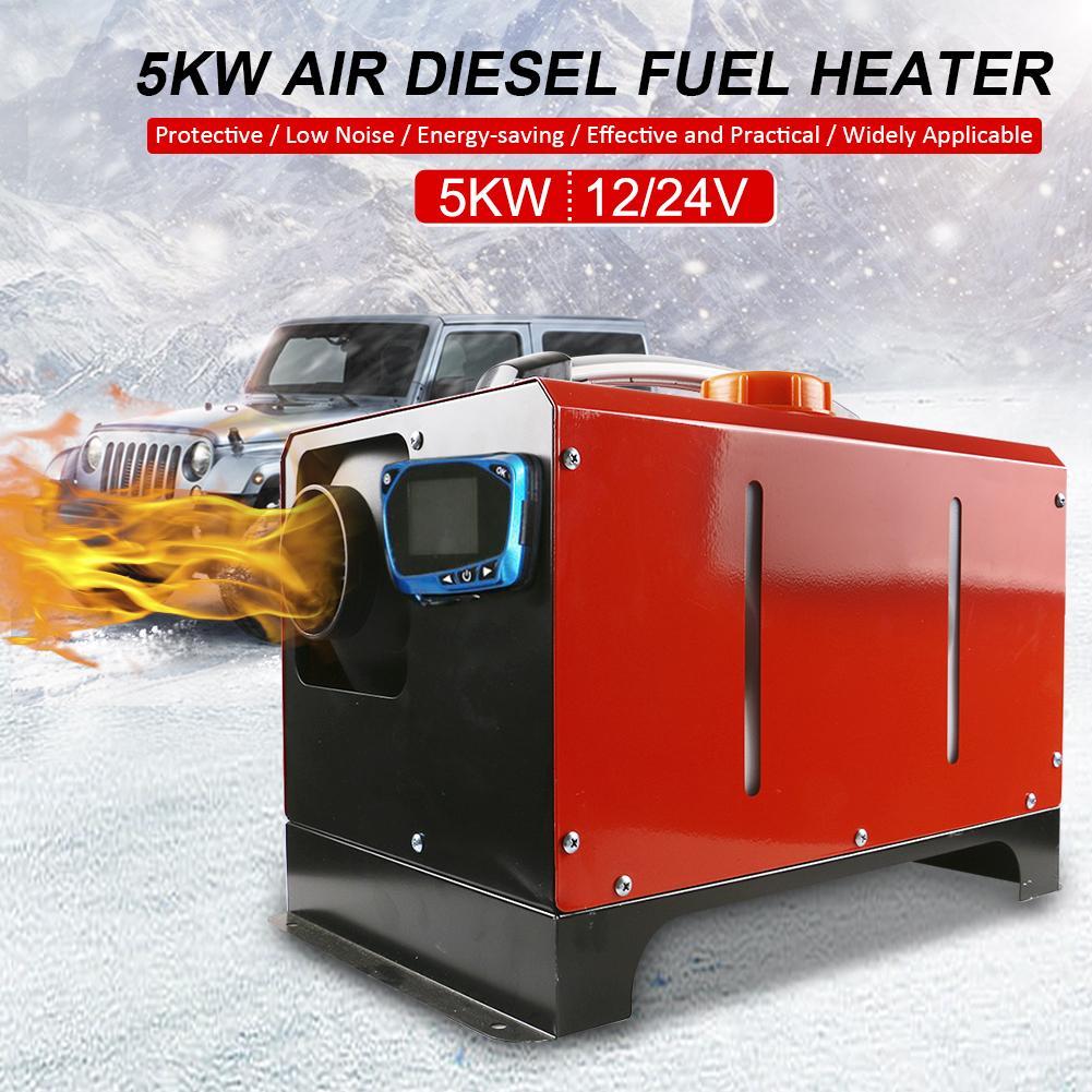 Réchauffeur Diesel de carburant de camion de voiture de réchauffeur d'air du réchauffeur 5KW 12V 24V de stationnement pour la Machine de chauffage de dégivrage de dégivrage en verre pour des bateaux de camions de RV