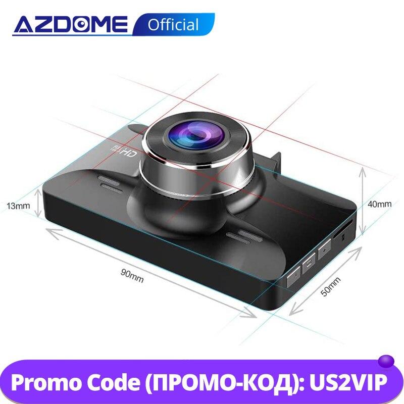 azdome m01 3 ips tela fhd 1080p dvr carro traco cam visao noturna gravador dvr carro