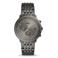 FOSSIL CHASE TIMER Mens Watches with Smoke Stainless Steel Chronograph Watch for Men FS5490P