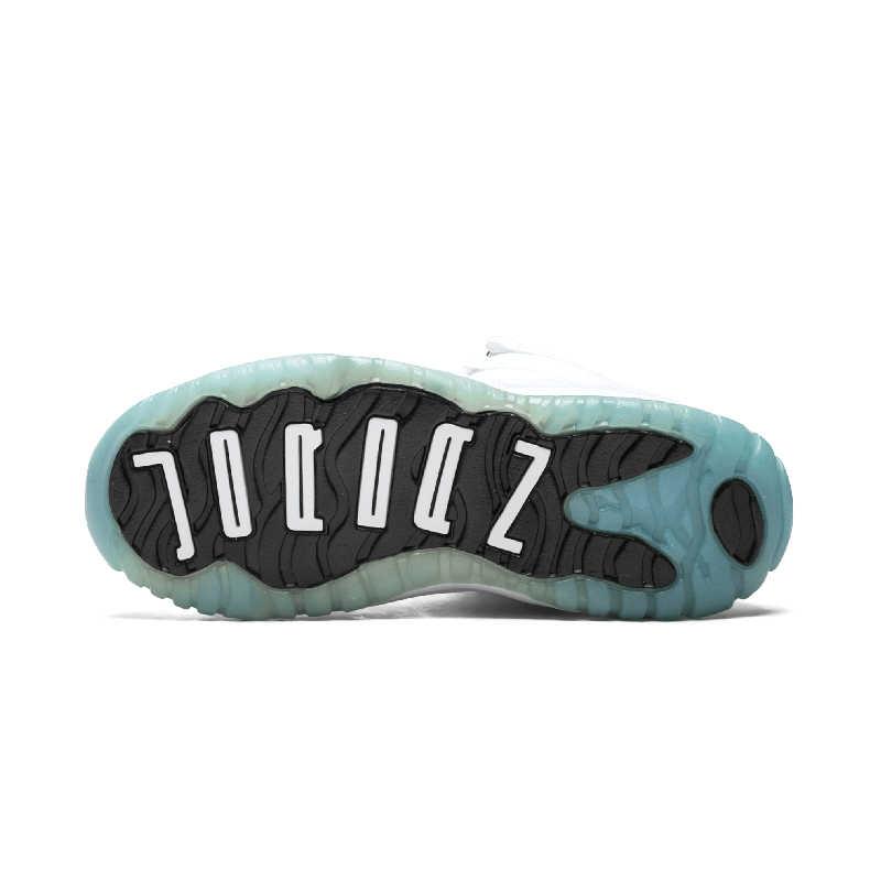Nike Air Jordan XI Original Kinder Schuhe Bequem Leder Kinder Laufschuhe Leichte Sport Turnschuhe #378039-117