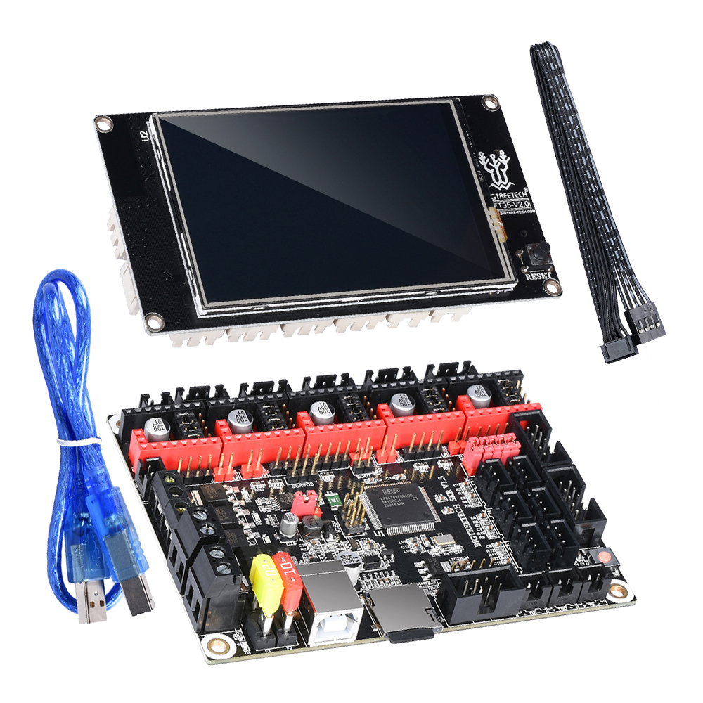 BIGTREETECH SKR V1 3 Smoothieboard 32-Bit ARM CPU Motherboard+ TFT35 Touch  Screen Open Source 3D Printer Parts RepRap MKS Gen L