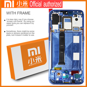 Image 3 - 6.39 AMOLED Original LCD For xiaomi Mi 9 Mi9 Display xiaomi 9 LCD Display Touch ScreenDigitizer Assembly with frame